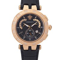 Versace - V Race 42mm Black