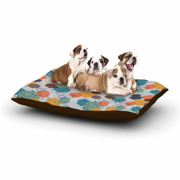 "Maike Thoma ""Biomolecular"" Science Multicolor Dog Bed"