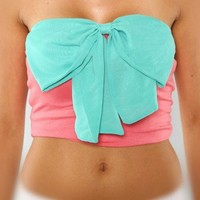 BIRTHDAY GIRL WITH A BOW TRIM TOP