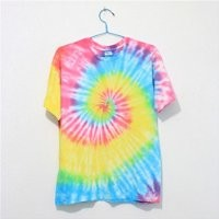 MP Mutilcolor Spiral Tie Dye Short Sleeve T Shirt 052833 HDP 0705 Size L