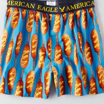 AEO Men's Corn Dog Boxer (Blue)