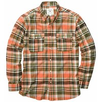 Field Flannel Shirt in Green by Southern Proper
