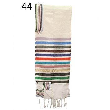 Wool Tallit - Josephs Coat Of Colors