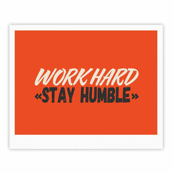 "Juan Paolo ""Work Hard Stay Humble"" Digital Vintage Fine Art Gallery Print"