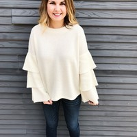 Charmed Sweater - Cream
