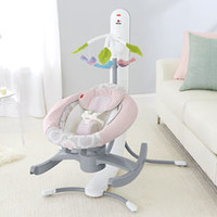 4-in-1 Smart Connect™ Cradle 'n Swing - Pink Shadow