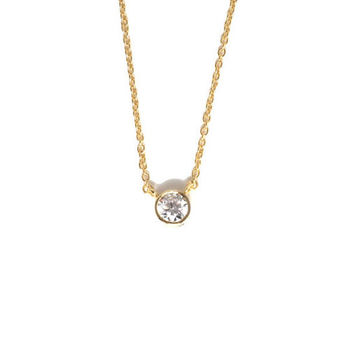 Shop diamond bezel necklace on wanelo tiffanyco elsa peretti diamonds by the yard pendant tiffany dia aloadofball Images