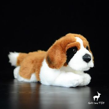 St Bernard Dog Stuffed Animal Plush Toy