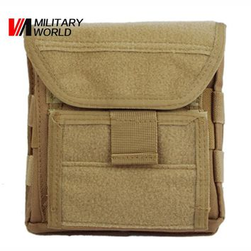 Muti-functional 1000D Molle Admin Magazine Storage Men's Tactical Pouch For Air Gun Pistol Holster Bag Hunting accessories