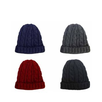 Men's Cable Knit Beanie - CASE OF 60