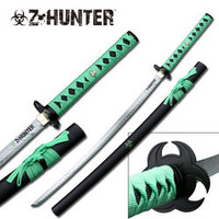 Zombie Hunter Blood Splatter Sword ZB029
