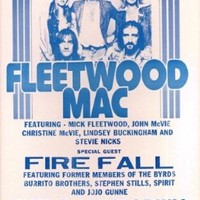 "Fleetwood Mac 1976 14"" X 22"" Vintage Style Concert Poster"