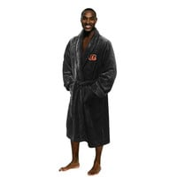 Cincinnati Bengals NFL Men's Silk Touch Bath Robe (L-XL)