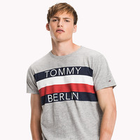 Cotton Blend Crew Neck T-Shirt | Tommy Hilfiger | Official Website