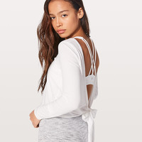 It's A Tie Long Sleeve | Women's Long Sleeve Tops | lululemon athletica
