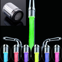 New Water  7 Colors Changing Tap Glow Shower Multicolor LED Faucet Light Sink Tap = 1705987204