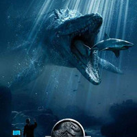 Jurassic World Mosasaurus Movie Poster 11x17
