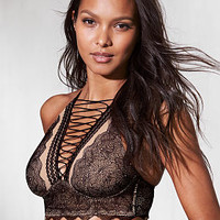 Lace-up High-neck Bra - Very Sexy - Victoria's Secret