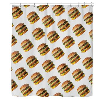 Big Mac Shower Curtain