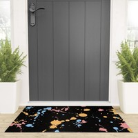 Spatter Welcome Mat by duckyb