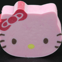 Die Cut Strawberry Scented Hello Kitty Eraser