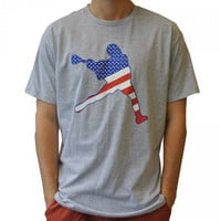 USA Laxman Tee | Lacrosse Unlimited