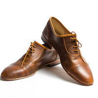 vintage brown and honey vagabond shoes - FREE WORLDWIDE SHIPPING