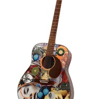 Vision Sisters   Modified Acoustic Guitar by ArtfulMusicianPRTLND