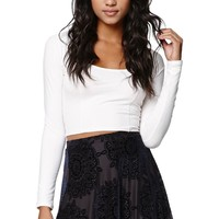 LA Hearts Medallion Velvet Skirt - Womens Skirt - Blue