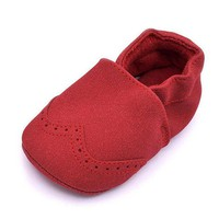 Baby Shoes For Boy Girls Kids Nu buck Baby Moccasins Newborns Infant Shoes Soft Shoes