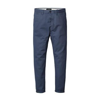 New Casual Pants Men  Cotton Slim Fit Chinos Fashion Trousers Male Brand Clothing Plus Size