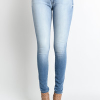 Lighter Wash Kancan Jeans