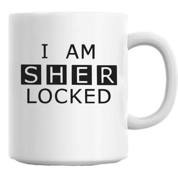 DCCKU7Q I Am Sherlocked Mug
