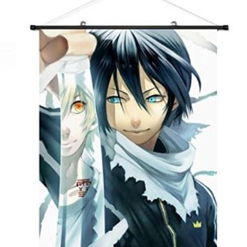 Home Decor Anime Hot Noragami Yato Cosplay Wall Scroll Poster Fabric Painting 23.6 X 31.5 Inches-C013