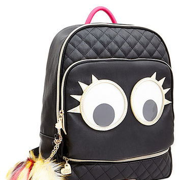 GOOGLY MOOGLY BACKPACK BLACK