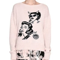 Prada Knit Cartoon Pullover Sweater and Matching Items