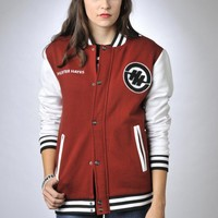 Hunter's Letterman Jacket