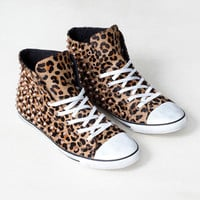 STUDDED LEOPARD PRINT PLIMSOLL BOOTS - WOMEN'S SHOES - SHOES -  United Kingdom