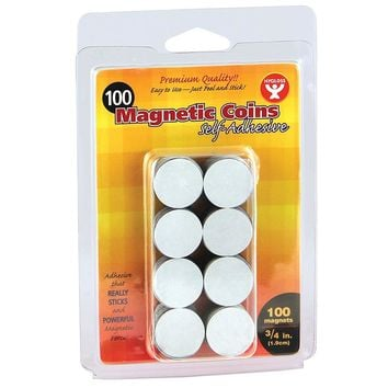 (6 Ea) Magnetic Coins