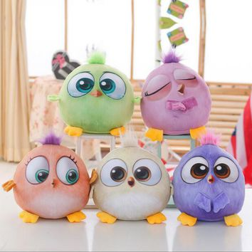 1PC 18cm New Creative 3D Cartoon Lovely Animal Birds Stuffed Plush Toys Dolls For kids gift
