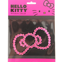 Hello Kitty Pink Bling Bow Window Decal | Hot Topic