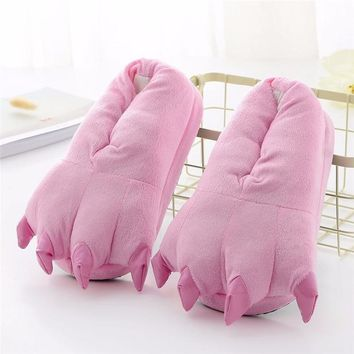 Monster Paw Slippers