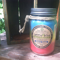 100% pure Soy Candle with Hemp Wick 16 oz. SNOW CONE