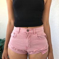 EVELYN SHORTS- PINK