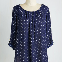 Darling Mid-length 3 Lunch Break Bliss Top by ModCloth
