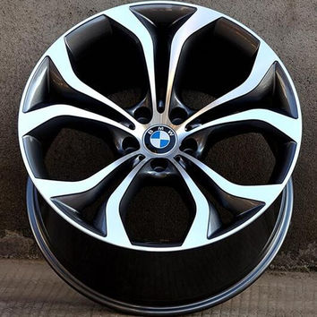 "Set of 4 19"" / 20"" Aluminum Alloy Staggered Wheels - 5x120 - BMW, Camaro"