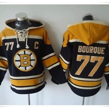 Hoodies Jerseys  ICE Hockey High Quality Boston Bruins Hoodie Pullover 4 Bobby Orr 37 Patrice Bergeron Hoody Cheap 33 Zdeno Chara Hockey Hoodie Sweatshirt
