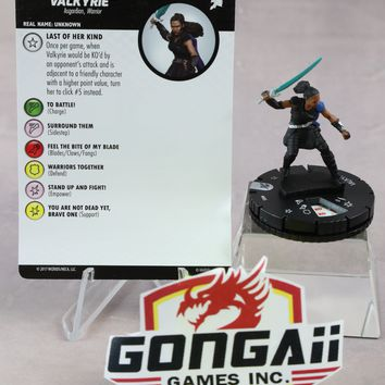 Marvel Heroclix Thor: Ragnarok Movie set Valkyrie #005 Gravity Feed