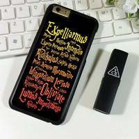 Black Magic Spells Harry Potter iPhone 6 Plus | 6S Plus Case Planetscase.com