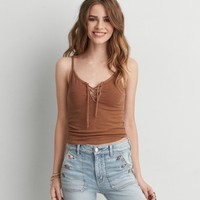 AEO FIRST ESSENTIALS SOFT & SEXY CROP TANK